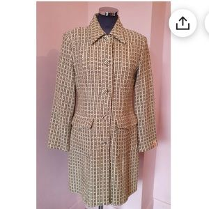 Vintage 1990s miss sixty Italy wool coat S